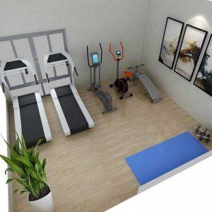 20㎡家庭小型健身房超值套餐