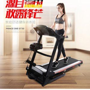GTGYMGT30 电动跑步机家用款多功能折叠超宽跑带静音健身器材正品 源自德国 精工品质