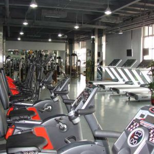 广州地产会所健身房
