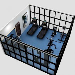 30㎡小型健身房超值套餐